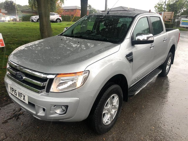 USED 2015 15 FORD RANGER 2.2 LIMITED 4X4 DCB TDCI 4d 148 BHP DOUBLE CAB