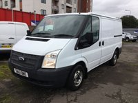 2012 FORD TRANSIT 2.2 250 LR 1d 99 BHP 1 OWNER NO VAT £5999.00