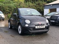 USED 2011 61 FIAT 500 1.2 POP 3d 69 BHP LOW INSURANCE GROUP * £30 ROAD TAX * FULL YEAR MOT * RED INTERIOR * AUX CONNECTION