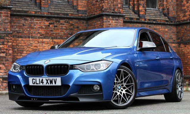 2014 14 BMW 3 SERIES 2.0 320D M SPORT 4d 181 BHP [ M PERFORMANCE ]