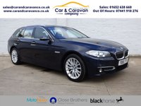 USED 2015 65 BMW 5 SERIES 2.0 520D LUXURY TOURING 5d AUTO 188 BHP One Owner Full Service History Buy Now, Pay Later Finance!