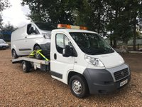 USED 2014 14 FIAT DUCATO 2.3 35 MULTIJET RECOVERY TRUCK Long Wheel Base Recovery Truck With Winch