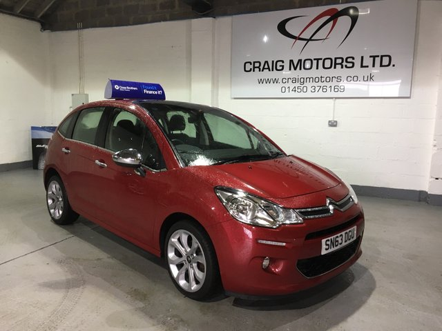 2013 63 CITROEN C3 1.2L SELECTION 5d 80 BHP