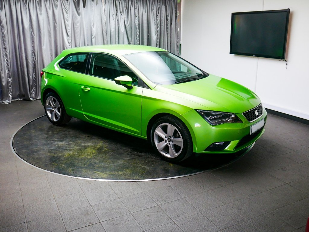 USED 2014 14 SEAT LEON 1.6 TDI SE TECHNOLOGY DSG 3d AUTO 105 BHP £0 DEPOSIT FINANCE AVAILABLE, AIR CONDITIONING, BLUETOOTH CONNECTIVITY, CLIMATE CONTROL, CRUISE CONTROL, DAB RADIO, DAYTIME RUNNING LIGHTS, HEATED DOOR MIRROS, SATELLITE NAVIGATION, START/STOP SYSTEM, STEERING WHEEL CONTROLS, TOUCH SCREEN HEAD UNIT, TRIP COMPUTER,