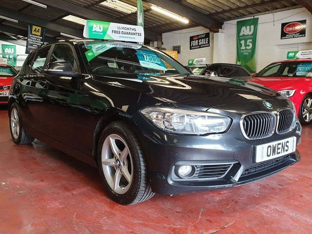 2015 65 BMW 1 SERIES 2.0 118d SE Sports Hatch (s/s) 5dr