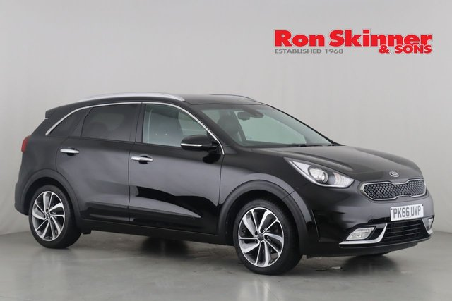 View our 2016 66 KIA NIRO 1.6 3 5d AUTO 104 BHP