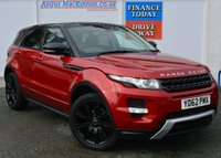 USED 2012 62 LAND ROVER RANGE ROVER EVOQUE 2.2 SD4 DYNAMIC LUX 5d Family 4x4 SUV AUTO Absolutely Stunning in Firenza Red with Black Roof Black Alloys Black Pack and Massive High Spec inc Panoramic Glass Roof Sat Nav Heated Elec Leather Memory Seats Full Park Assist 360 Surround Camera System BLIS Xenon Headlamps Elec Power Tailgate Recent Service MOT Ready to Finance and Drive Away Today STUNNING IN FIRENZE RED WITH CONTRASTING BLACK ROOF AND ALLOYS