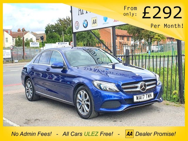 USED 2017 17 MERCEDES-BENZ C CLASS 2.0 C350 E SPORT 4d AUTO 293 BHP MERC WARRANTY, HEADS UP DISPLAY, NAV, FSH!