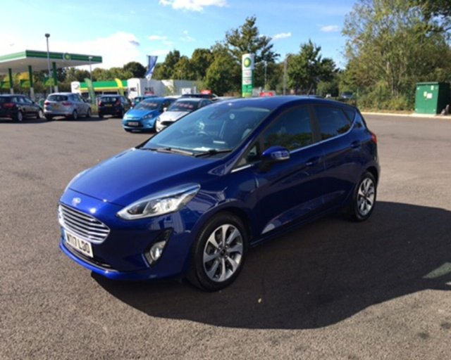2017 17 FORD FIESTA 1.0 ZETEC ECOBOOST (100PS) NEW MODEL
