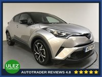 USED 2017 17 TOYOTA CHR 1.8 DYNAMIC 5d AUTO 122 BHP FULL TOYOTA HISTORY - 1 OWNER - SAT NAV - LEATHER - REAR CAMERA - PARKING SENSORS - BLUETOOTH