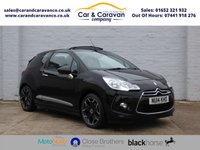 USED 2014 14 CITROEN DS3 1.6 E-HDI AIRDREAM DSTYLE PLUS 3d 90 BHP Service History Bluetooth A/C Buy Now, Pay Later Finance!