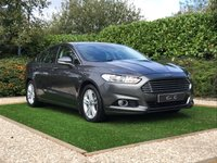 USED 2015 15 FORD MONDEO 2.0 TITANIUM TDCI 5d 148 BHP Fantastic Reliability and Excellent Super Low Running costs + £30 Road Tax make this and a Full Documented Service History, Satellite Navigation + Bluetooth Connectivity + DAB Radio, Park Distance Control, Leather Multi Function Steering Wheel, Cruise Control, Heated Electric Powerfold Mirrors, 17 Inch Alloy Wheels, Digital Dual Zone Climate Control, Lane Keep Assist, Keyless Entry and Drive