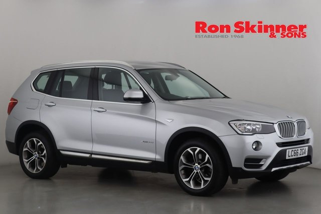 View our 2016 66 BMW X3 2.0 XDRIVE20D XLINE 5d AUTO 188 BHP