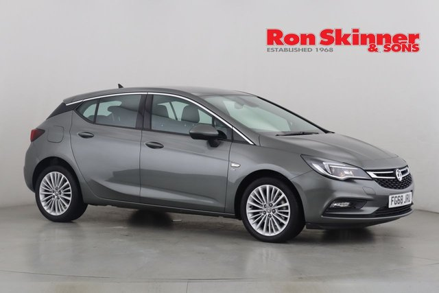 View our 2018 68 VAUXHALL ASTRA 1.6 ELITE NAV CDTI S/S 5d 135 BHP