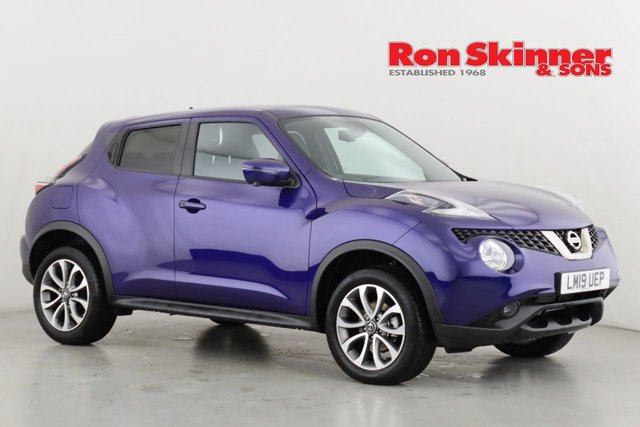 View our 2019 19 NISSAN JUKE 1.6 TEKNA 5d 112 BHP