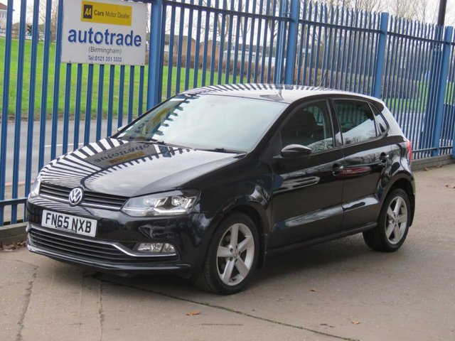 USED 2015 65 VOLKSWAGEN POLO 1.4 SEL TDI BLUEMOTION 5dr Bluetooth Cruise DAB Park sensors Alloys Low Mileage,£nil Tax,service history