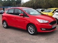 2016 FORD C-MAX 1.6 ZETEC 5d ONE PRIVATE OWNER FROM NEW  £8000.00
