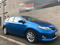USED 2013 63 TOYOTA AURIS 1.4 ICON D-4D 5d 89 BHP