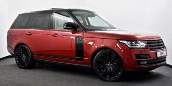 2016 LAND ROVER RANGE ROVER 3.0 TD V6 Vogue SE Auto 4WD (s/s) 5dr £45995.00