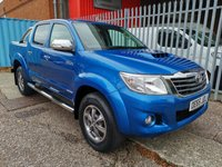 2015 TOYOTA HI-LUX 3.0 D-4D INVINCIBLE X 4X4 D/Cab *LEATHER + ONLY 31k* £SOLD