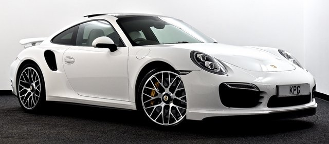 USED 2014 14 PORSCHE 911 3.8T 991 Turbo S PDK 4WD 2dr Pan Roof, Burmester, Camera ++