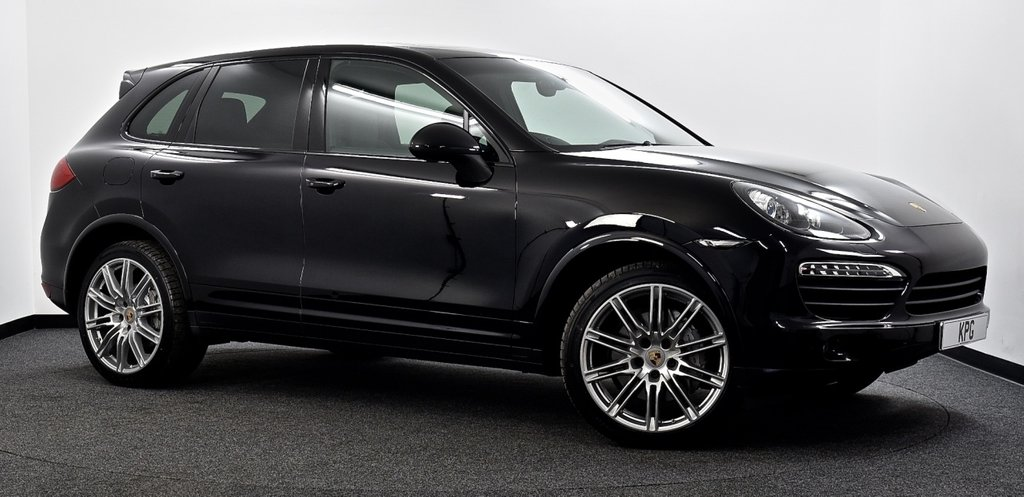 USED 2013 63 PORSCHE CAYENNE 4.2 TD V8 S 5dr Tiptronic S £18k Extras, Pan Roof, F/P/S/H