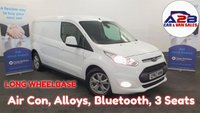 2018 FORD TRANSIT CONNECT 1.5 240 LIMITED L.W.B 120 BHP EURO 6 Long Wheelbase, Air Con, Alloys, Bluetooth, Cruise Control, 3 Seats, Much much mare.... £11980.00