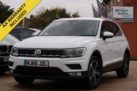 USED 2016 66 VOLKSWAGEN TIGUAN 2.0 SE NAV TDI BMT 5d 148 BHP 1 OWNER FROM NEW, FULL VW SERVICE HISTORY, 2 KEYS