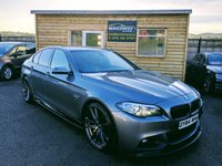 2014 BMW 5 SERIES 2.0 520D M SPORT 4d AUTO 188 BHP £16500.00