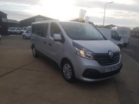 USED 2016 66 RENAULT TRAFIC 1.6 LL29 SPORT ENERGY DCI 5d 145 BHP 8 Seat