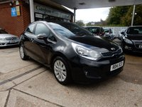 USED 2014 14 KIA RIO 1.4 CRDI 2 ECODYNAMICS 5d 88 BHP BLUETOOTH,AIR CON,USB AND AUX PORT,KIA HISTORY,TWO KEYS