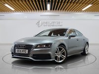 "USED 2014 14 AUDI A7 3.0 TDI QUATTRO S LINE 5d AUTO 204 BHP **FREE RAC 6 MONTHS WARRANTY INC** Sat Nav | Leathers | Sun Roof | 19"" Alloys 