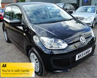 2014 VOLKSWAGEN UP 1.0 MOVE UP 5d 59 BHP £4780.00