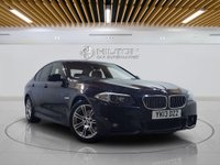 """USED 2013 13 BMW 5 SERIES 2.0 520D M SPORT 4d AUTO 181 BHP **FREE RAC 6 MONTHS WARRANTY INC** Sat Nav 