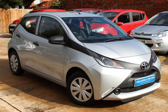 USED 2015 65 TOYOTA AYGO 1.0 VVT-I X 5d 69 BHP **** ZERO ROAD TAX * 69.0 MPG ****