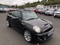 USED 2013 63 MINI CONVERTIBLE 1.6 COOPER S HIGHGATE 2d 181 BHP Hot Chocolate Brown Metallic, full leather heated seats ++