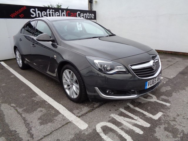 USED 2015 65 VAUXHALL INSIGNIA 2.0 SRI NAV CDTI ECOFLEX S/S 5d 138 BHP dab radio bluetooth satellite navigation cruise control privacy glass alloy wheels