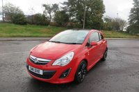 """2011 VAUXHALL CORSA 1.2 LIMITED EDITION 3d 17""""Alloys,Cruise Control,F.S.H £3650.00"""