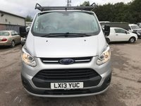 USED 2013 13 FORD TRANSIT CUSTOM 270 100PS SWB TREND **NO VAT**GREAT VALUE**