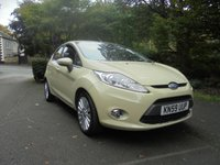 USED 2009 59 FORD FIESTA 1.4 TITANIUM 5d 96 BHP OUTSTANDING VALUE FOR MONEY