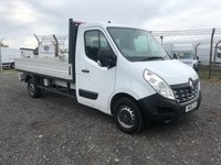 2016 RENAULT MASTER LL35 BUSINESS 2.3 DCI 125 LWB DROPSIDE TRUCK £8695.00