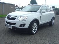 USED 2013 63 VAUXHALL ANTARA 2.2 SE NAV CDTI S/S 5d 161 BHP HUGE FACTORY SPECIFACATION