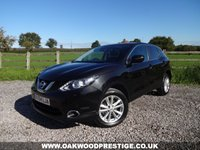 USED 2014 64 NISSAN QASHQAI 1.5 DCI ACENTA PREMIUM 5d 108 BHP FUEL EFFICIENT 1.5 DCI WITH £0 ROAD TAX