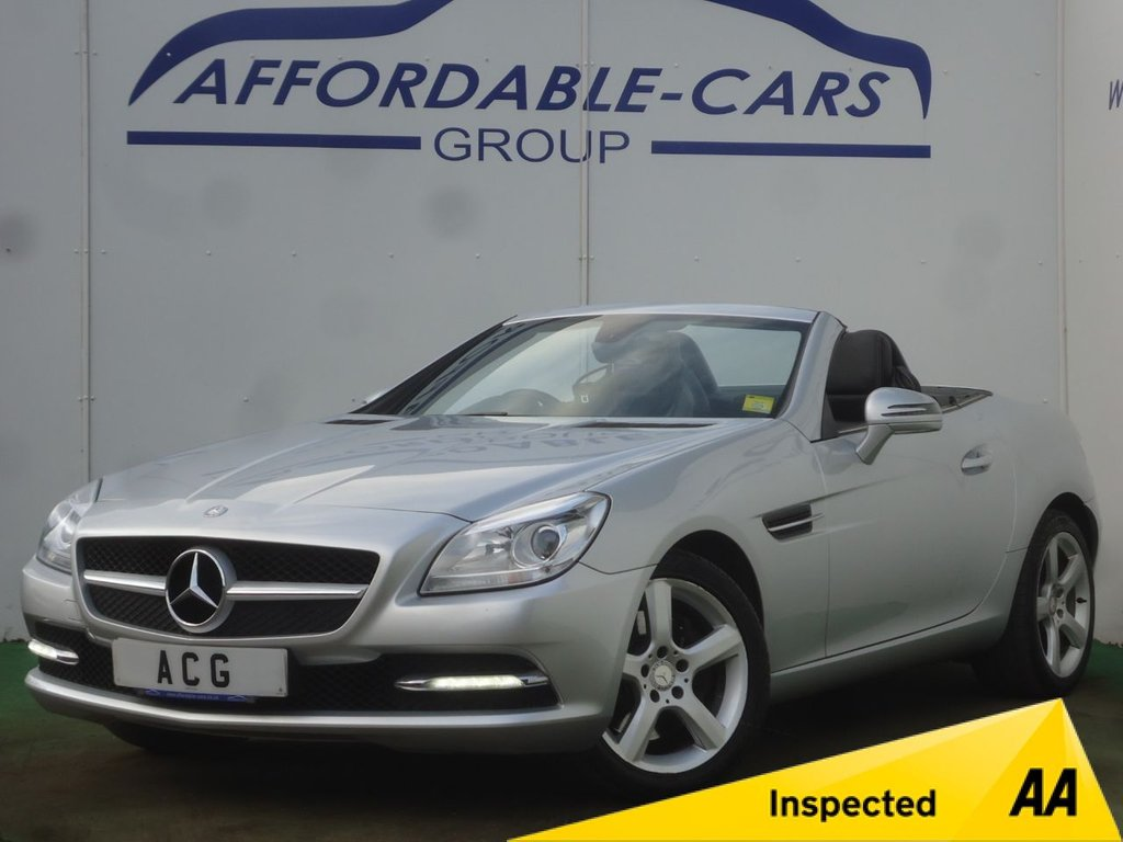 USED 2012 12 MERCEDES-BENZ SLK 2.1 SLK250 CDI BLUEEFFICIENCY 2d AUTO 204 BHP