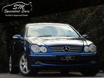 2004 MERCEDES-BENZ CLK 1.8 CLK200 KOMPRESSOR ELEGANCE 2d AUTO 163 BHP £2290.00