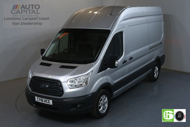 2018 18 FORD TRANSIT 2.0 350 TREND L3 H3 129 BHP EURO 6 ENGINE AIR CON, F-R PARKING SENSORS, ALLOY WHEEL