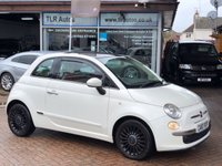 USED 2010 10 FIAT 500 1.2 LOUNGE MULTIJET 95 3d 95 BHP Free MOT for Life