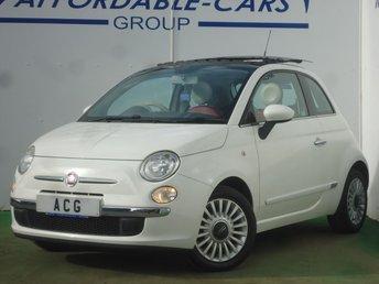 2011 FIAT 500 1.2 LOUNGE 3d 69 BHP £3600.00