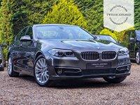 USED 2014 64 BMW 5 SERIES 3.0 530D LUXURY 4d AUTO 255 BHP