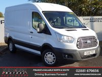 USED 2016 16 FORD TRANSIT 290 TREND L2 H3 2.2 125 BHP * OVER 90 VANS IN STOCK*